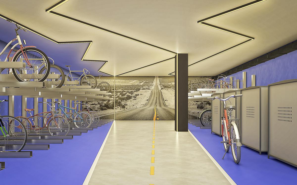 Bike Room pisos de alquiler BeCorp