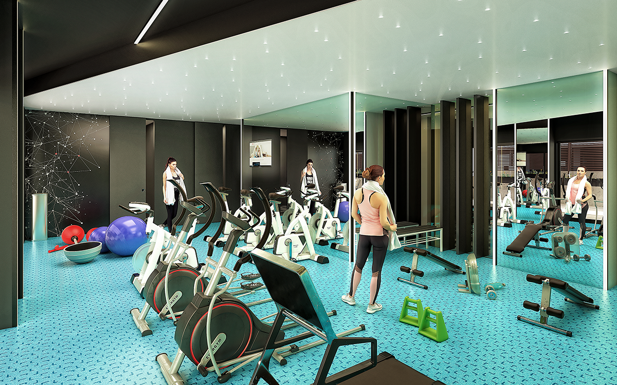 Gym pisos de alquiler BeCorp