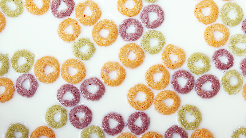 cereales froot loops en barcelona